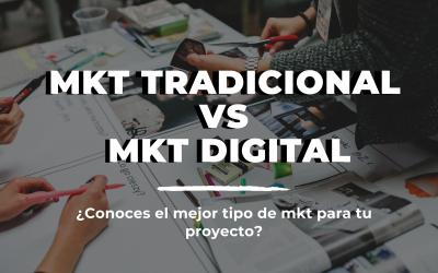 Mkt Tradicional vs Mkt Digital, ¿Cuál te conviene más?